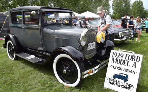 Father's Day Show and Shine in Lheidli T'enneh Memorial Park
