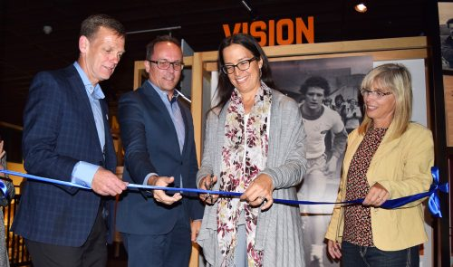 Terry Fox exhibit officially open at The Exploration Place