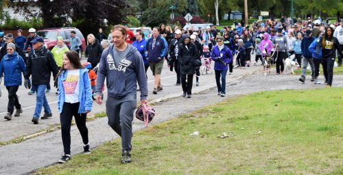 Great turnout for annual Terry Fox Run