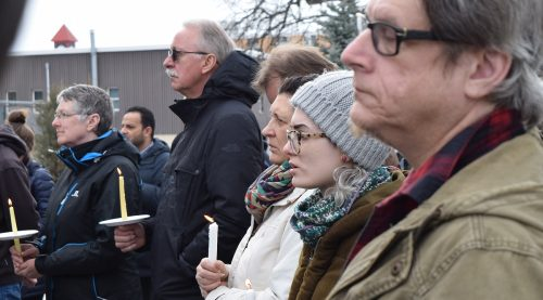 Vigil held for Christchurch