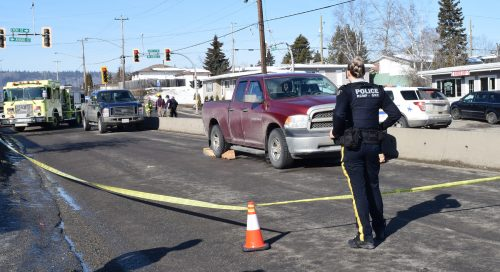 UPDATED: Pedestrian hit on Fifth Avenue near Spruceland