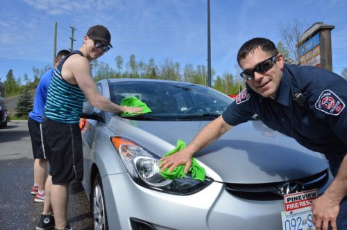 Special car wash helps Special Olympics this weekend