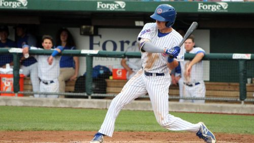 Cubs name Jared Young minor league player of the month