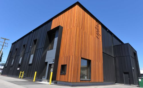 Wood research lab certified as 'passive house'