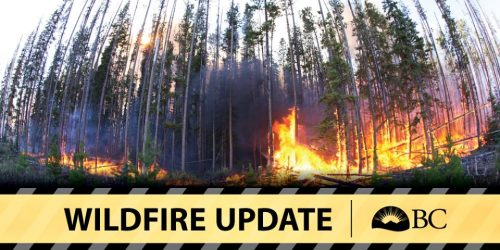 Thirteen fires in Bulkley fire zone