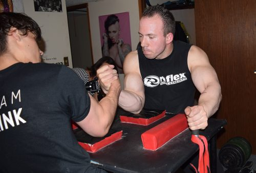 Gallo off to national armwrestling championships