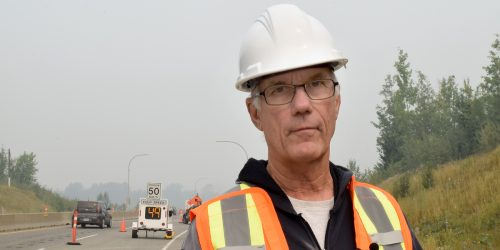 Ministry of Transportation and Infrastructure spokesperson Pat Preston. Bill Phillips photo