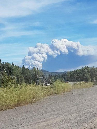 Planned burn on west side of Shovel Lake fire