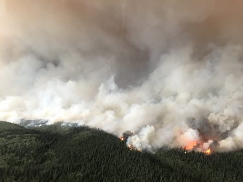 Thirty-four active fires in Bulkley and Cassiar fire zones