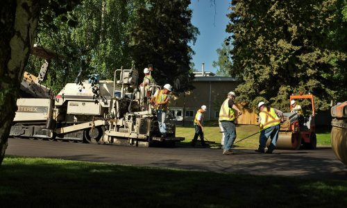 Major paving operations underway this week