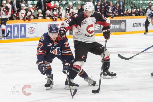 Cougars fall 4-3 to Blazers in final pre-season tilt