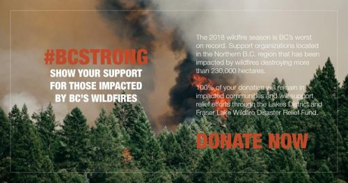 Burns Lake Community Foundation sets up wildfire fund