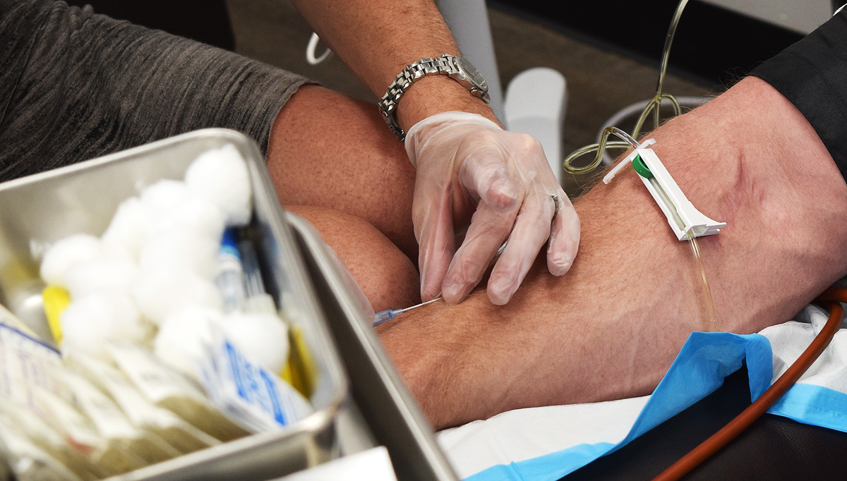 Yes, you have to get over your fear of needles.