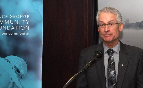 Alain LeFebvre, Community Foundation president.
