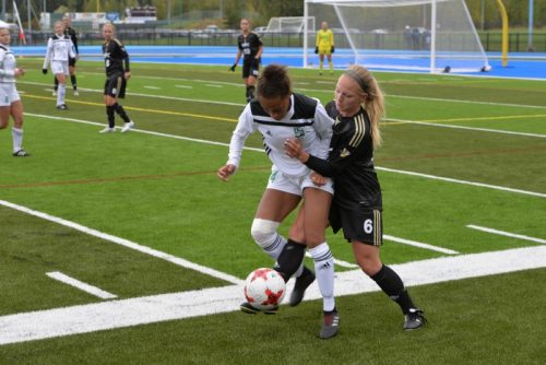 TWolves score twice late to earn 2-2 draw with Huskies