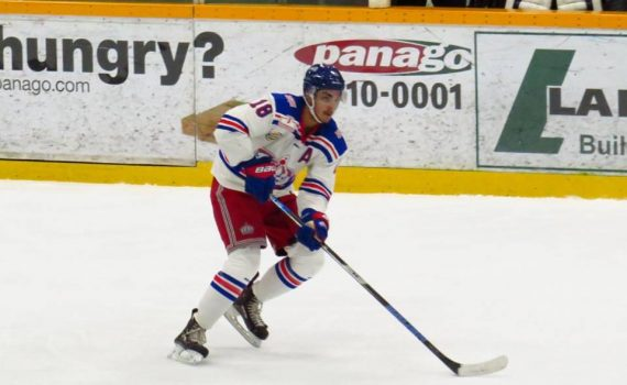 Spruce Kings forward Ben Brar. Chuck Chin photo
