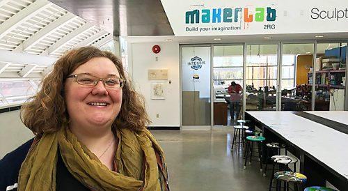 MakerLab Coordinator Briana Dawson-Sadler