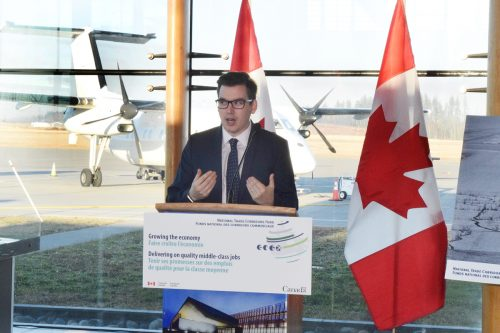 Feds fund half of secondary runway rehab at YXS