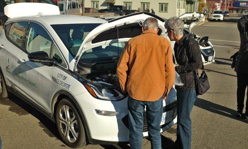 City unveils new electric car