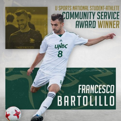 Bartolillo wins national Student-Athlete Community Service Award