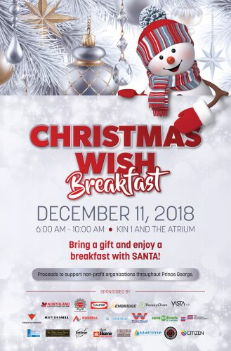 Christmas Wish Breakfast set for December 11