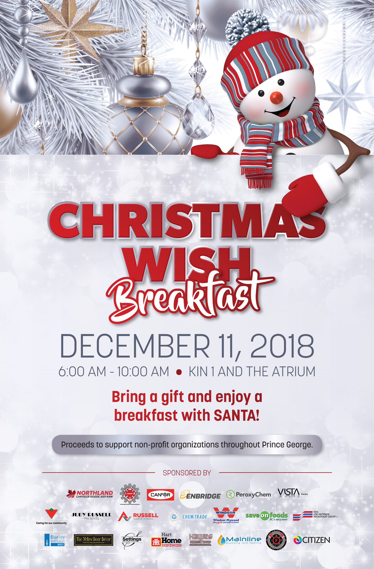 Christmas Wish Breakfast set for December 11 – Prince George Daily News