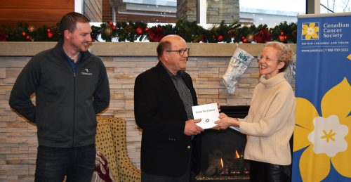 Climb for Cancer recognized for fundraising efforts