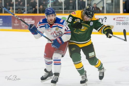 Spruce Kings blank Powell River Kings