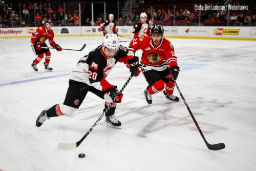 Winterhawks' special team up end Cougars