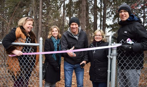 Trail dedicated at Hospice House in memory of Jolene Crosina