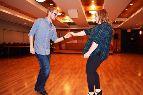 Foster and Duchscherer to perform fusion of West Coast Swing and Cha Cha