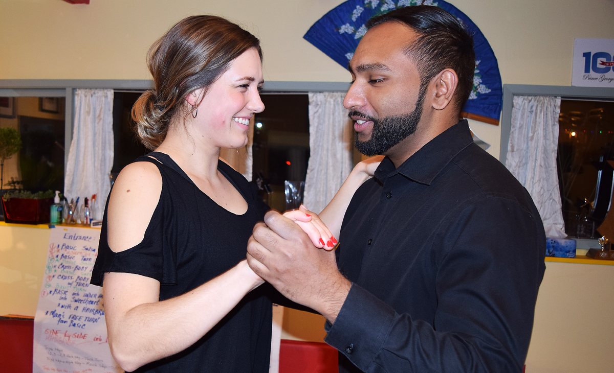 Sponsored by Royal LePage, Haylee Seiter and Gurinder Paul will represent the Wheelin Warriors of the North as this year's Boogie With the Stars. Bill Phillips photo