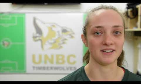 Kenzie Chilcott. UNBC photo