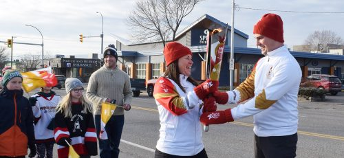 Canada Games torch relay hits the city