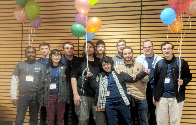 UNBC's computer science students posted their best performance in school history at the ACM Pacific Northwest Intercollegiate Programming Regional Contest at Simon Fraser University in Burnaby. UNBC photo