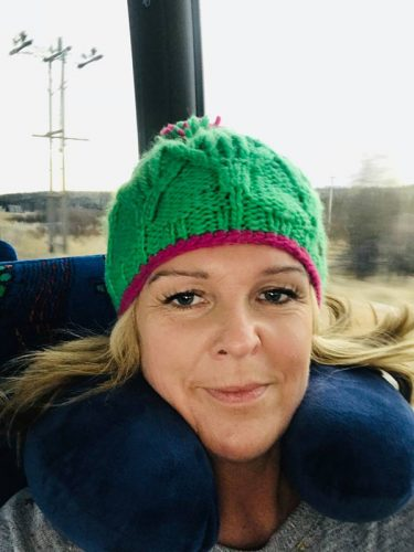 On the buses with Fiona MacPherson