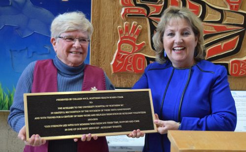 Hospital Auxiliary turns 100; Jubilee House gets $300,000