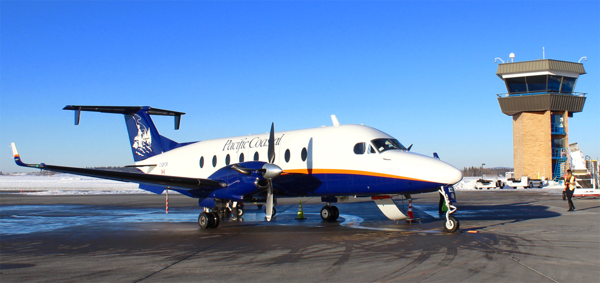 The 19-seat Beechcraft 1900D