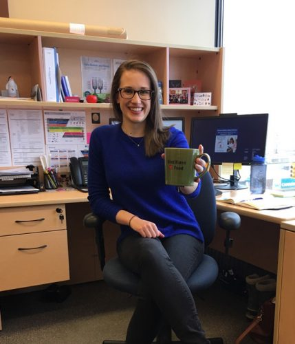 In focus: Allie Stephen, CBORD Quality Improvement Dietitian, Prince George