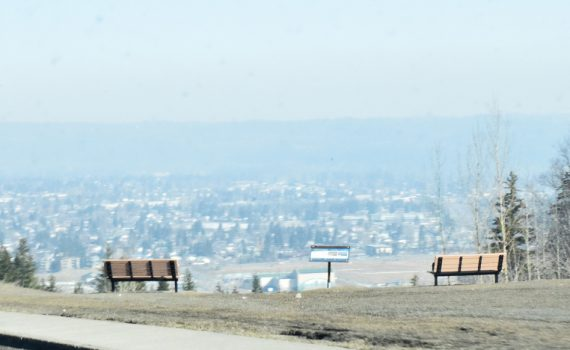 An air quality advisory and a dust advisory has been issued for Prince George. Bill Phillips photo