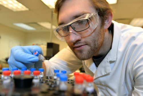 UNBC research indicates modified zeolite minerals can kill bacteria in contaminated water