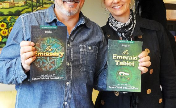Rene DeFazio and Tamara Veitch, authors of The Emissary, will be in Prince George for Northern FanCon.