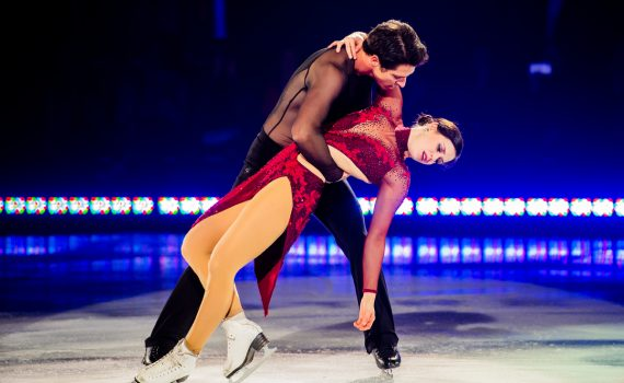 Scott Moir and Tessa Virtue will bring their Rock the Rink tour to Prince George October 12. Danielle Earl photo