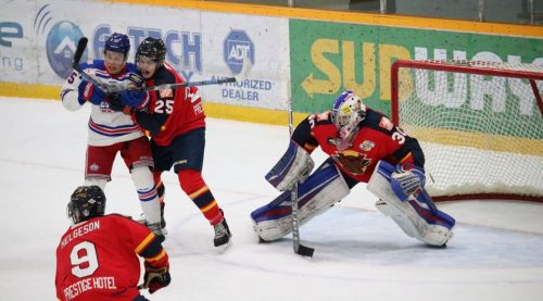 Poisson's OT winner gives Spruce Kings 3-0 series lead over Vipers