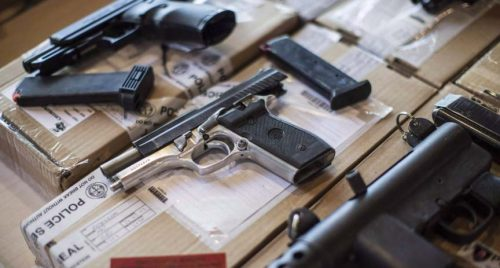Amid concern over gun violence, majorities support ban on handguns, assault weapons