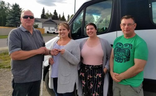 Carefree Society donated bus to Big Brothers Big Sisters