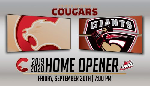 Cougars to open season Sept. 20 against Giants