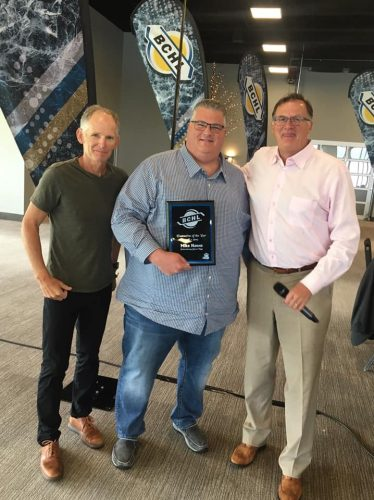 Hawes wins BCHL executive of the year award
