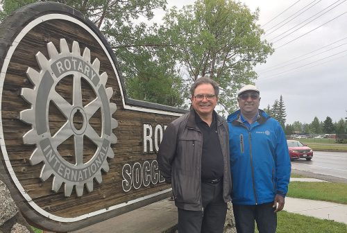 Rotary District 5040 Governor visits Prince George