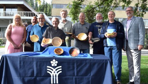 Wood Turners Guild makes art from city trees and Spirit of the North benefits